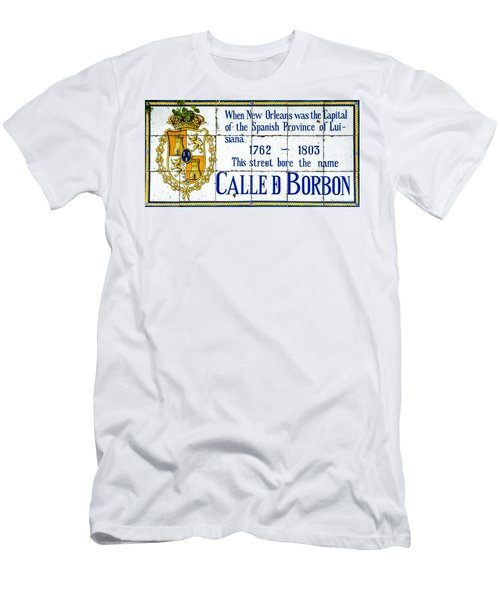 Calle D Borbon Men's T-Shirt (Athletic Fit)