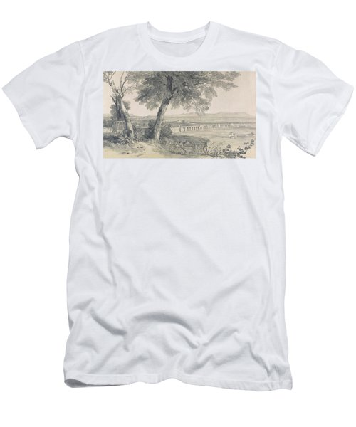Campagna Of Rome From Villa Mattei Men's T-Shirt (Athletic Fit)