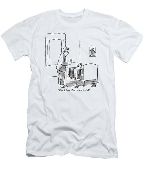 Can I Have That With A Twist? Men's T-Shirt (Athletic Fit)