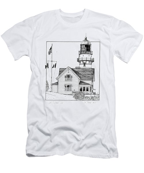 Cape Elizabeth Lighthouse Men's T-Shirt (Athletic Fit)