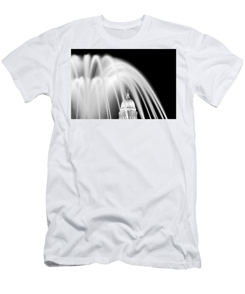 Capitol Fountain Men's T-Shirt (Athletic Fit)