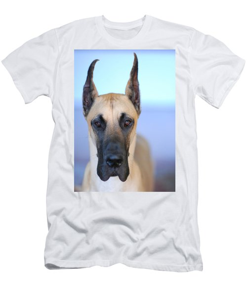 Men's T-Shirt (Slim Fit) featuring the photograph Cappy by Lisa Phillips