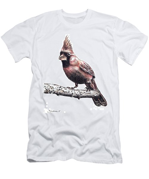 Cardinal Male Men's T-Shirt (Athletic Fit)