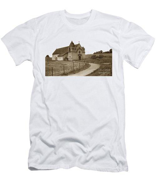 Carmel Mission Monterey Co. California Circa 1890 Men's T-Shirt (Athletic Fit)