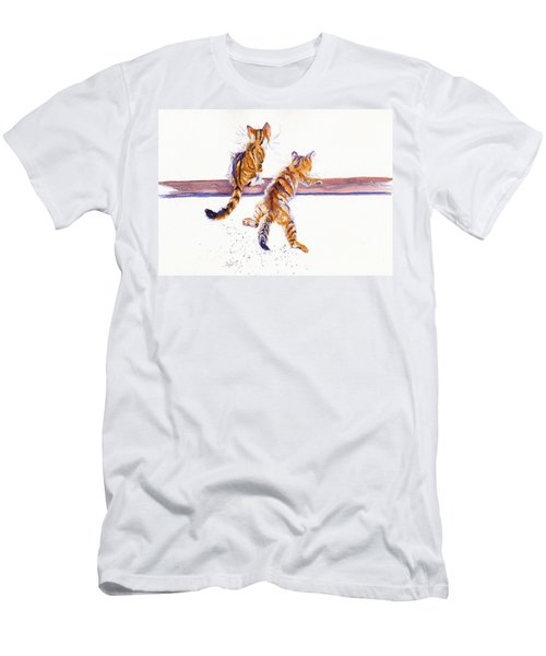 Cat-astrophe Men's T-Shirt (Athletic Fit)