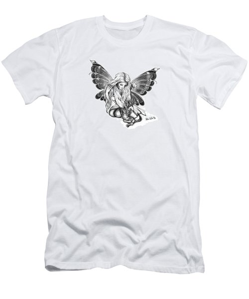 Cat Fairy  Men's T-Shirt (Athletic Fit)