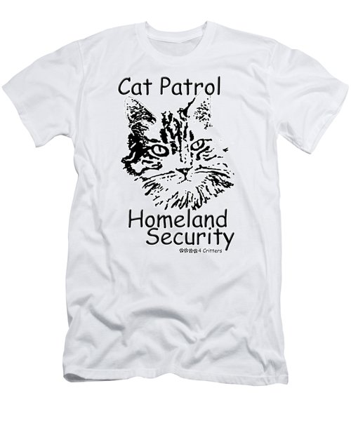 Cat Patrol Homeland Security Men's T-Shirt (Athletic Fit)