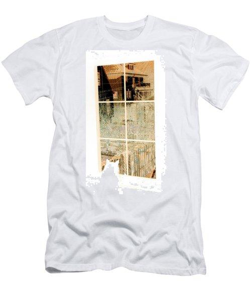 Cat Perspective Men's T-Shirt (Athletic Fit)