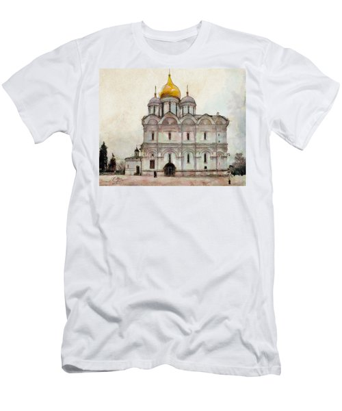 Cathedral Of The Archangel Men's T-Shirt (Athletic Fit)