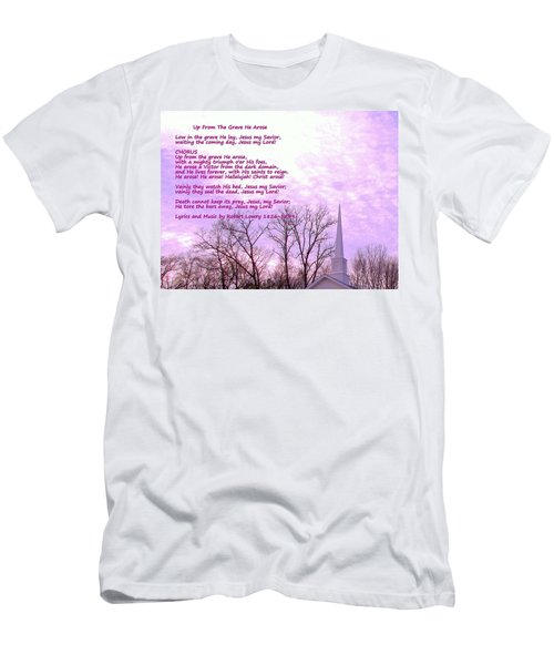 Celebrating The Resurrection Men's T-Shirt (Athletic Fit)