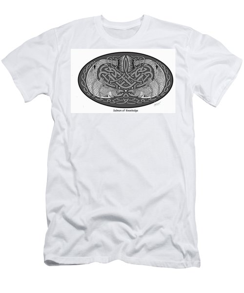 Celtic Salmon Men's T-Shirt (Athletic Fit)