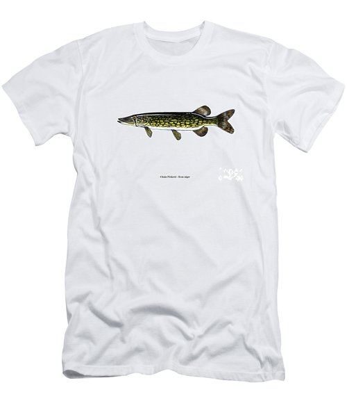 Chain Pickerel Men's T-Shirt (Athletic Fit)