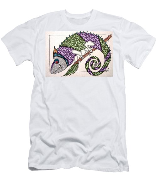 Chameleon Men's T-Shirt (Athletic Fit)