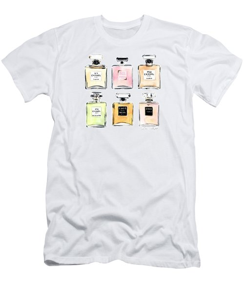 Chanel Perfumes Men's T-Shirt (Athletic Fit)