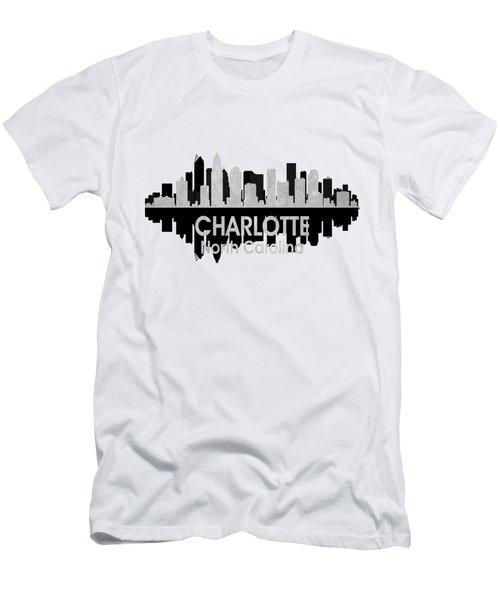 Charlotte Nc 4 Squared Men's T-Shirt (Athletic Fit)