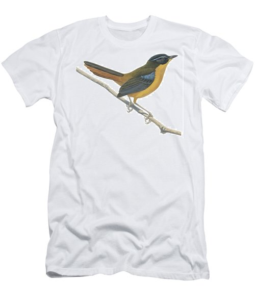 Chat Thrush  Men's T-Shirt (Athletic Fit)