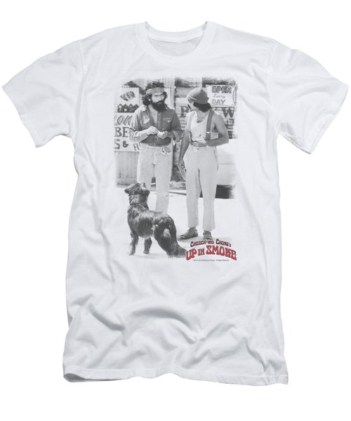Cheech And Chong - Square Men's T-Shirt (Athletic Fit)