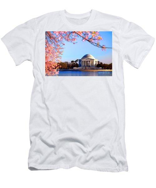 Cherry Jefferson Men's T-Shirt (Athletic Fit)