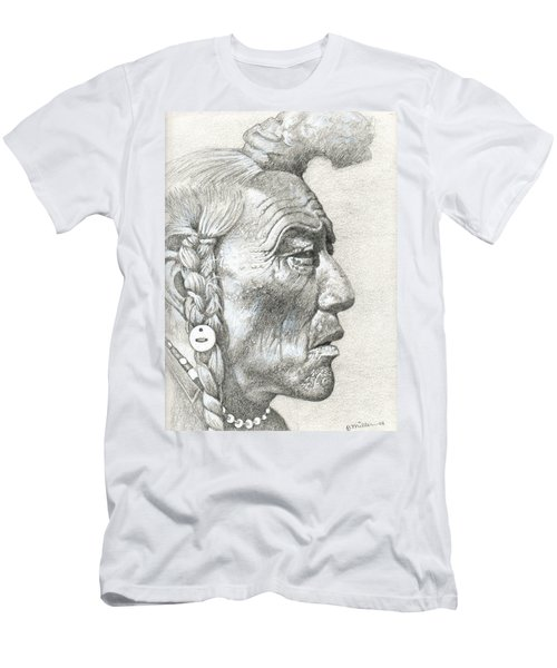 Cheyenne Medicine Man Men's T-Shirt (Athletic Fit)