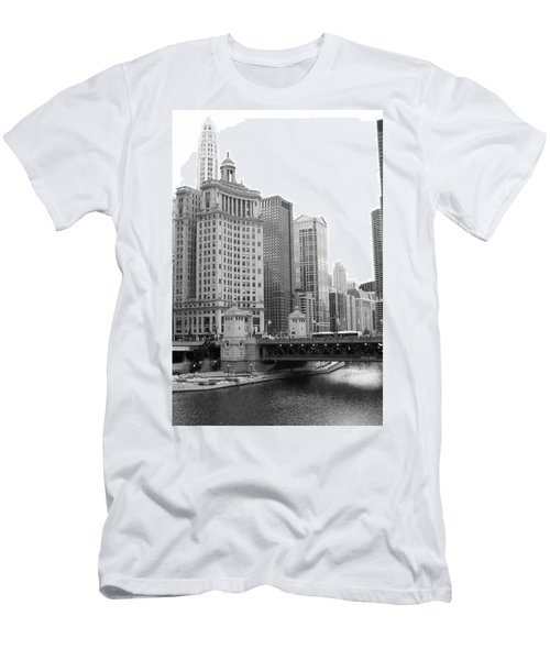 Chicago Downtown 2 Men's T-Shirt (Athletic Fit)