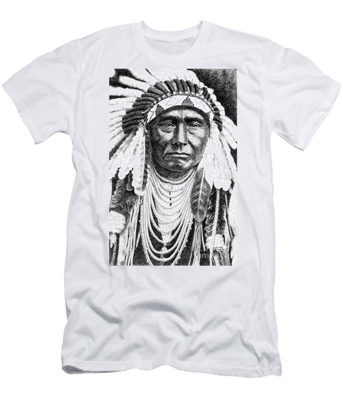 Chief-joseph Men's T-Shirt (Athletic Fit)