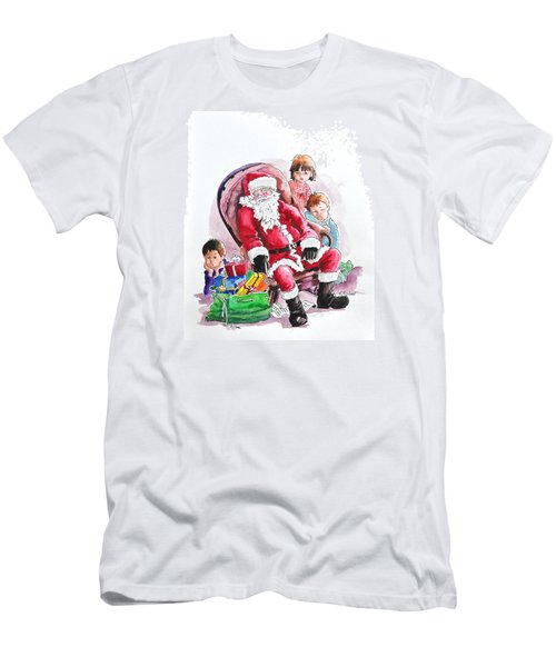 Children Patiently Waiting Up For Santa. Men's T-Shirt (Athletic Fit)