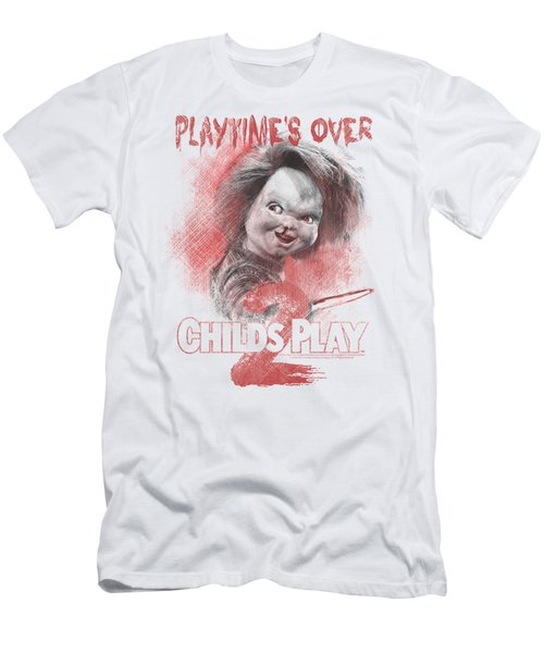 Childs Play 2 - Playtimes Over Men's T-Shirt (Athletic Fit)