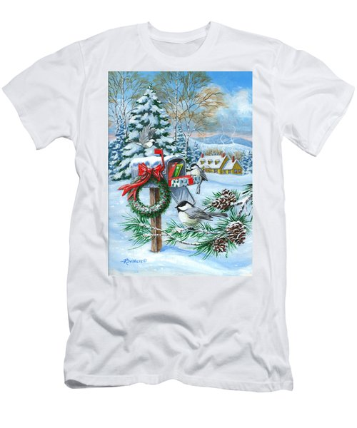 Christmas Mail Men's T-Shirt (Athletic Fit)