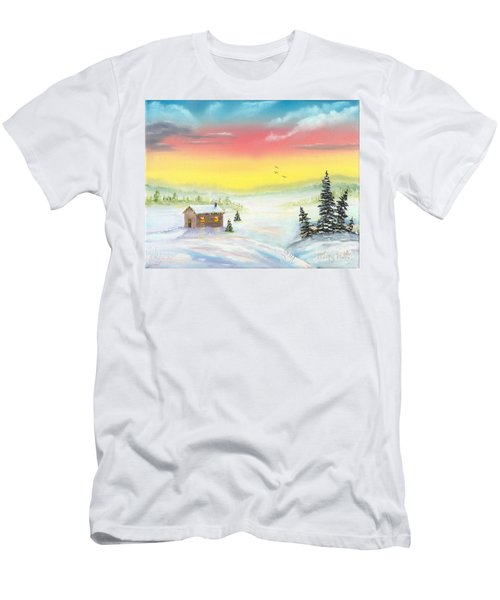 Christmas Morning Men's T-Shirt (Athletic Fit)