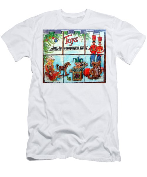 Christmas Window Men's T-Shirt (Athletic Fit)