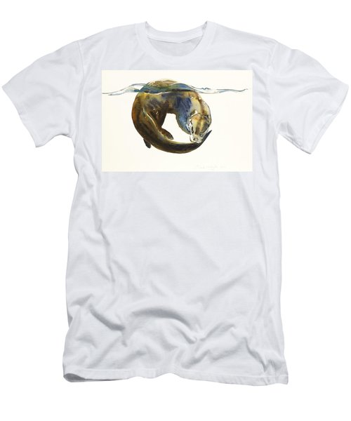 Circle Of Life Men's T-Shirt (Slim Fit) by Mark Adlington