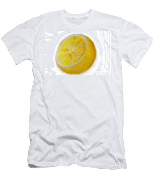 Citrus Men's T-Shirt (Slim Fit) by Marisela Mungia