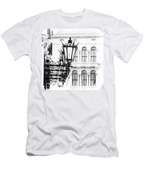 City Lights In Venice Men's T-Shirt (Athletic Fit)