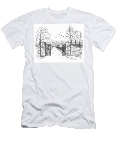 Clermont Farm Gate Men's T-Shirt (Athletic Fit)