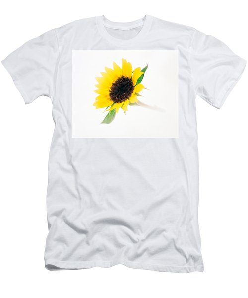 Close Up Of Sunflower Men's T-Shirt (Athletic Fit)