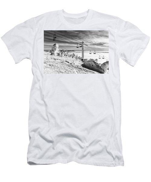 Cloud Lift Men's T-Shirt (Slim Fit) by Aaron Aldrich