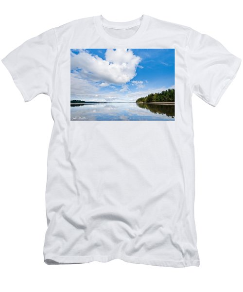 Clouds Reflected In Puget Sound Men's T-Shirt (Athletic Fit)