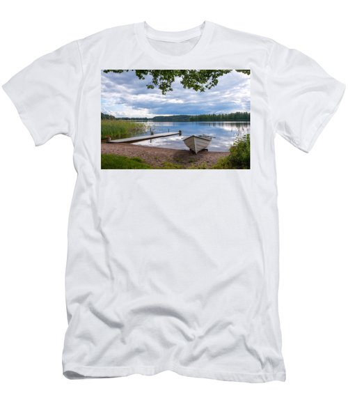 Cloudy Summer Day Men's T-Shirt (Athletic Fit)