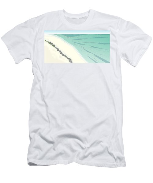 Coastal Wash Men's T-Shirt (Athletic Fit)