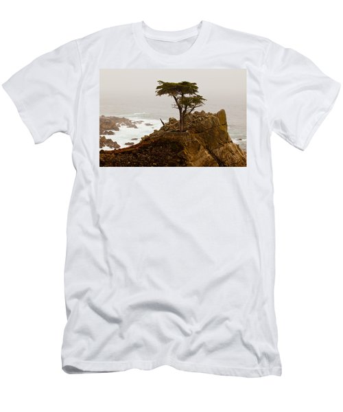 Coastline Cypress Men's T-Shirt (Athletic Fit)