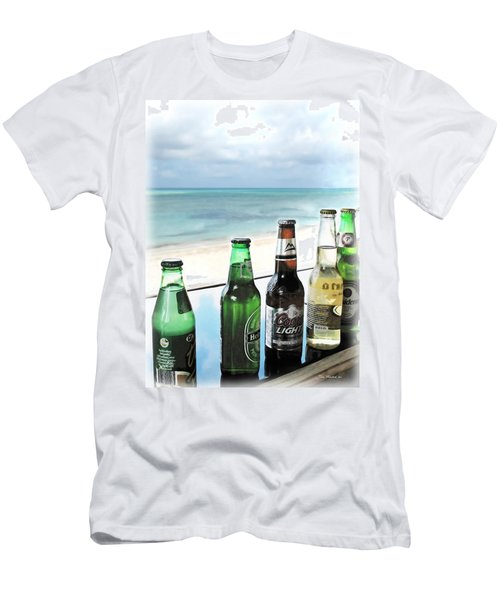 Cold Beers In Paradise Men's T-Shirt (Athletic Fit)