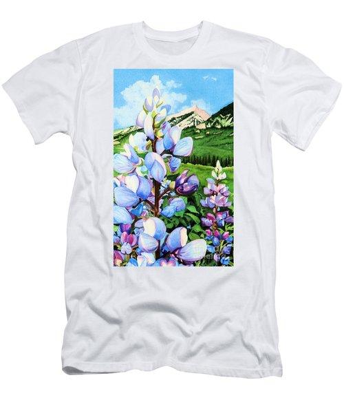 Colorado Summer Blues Close-up Men's T-Shirt (Athletic Fit)
