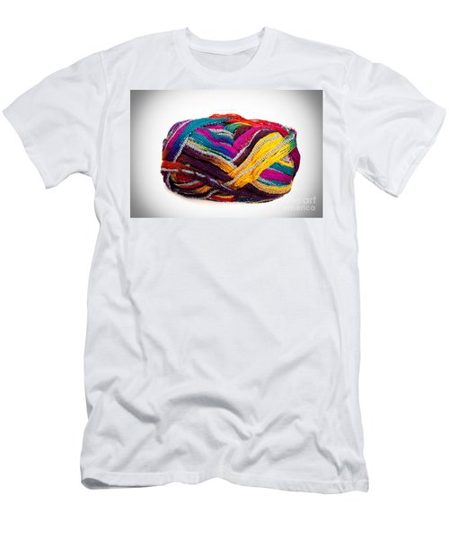 Colorful Yarn Men's T-Shirt (Athletic Fit)