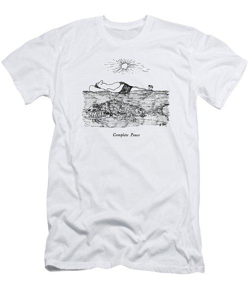 Complete Peace Men's T-Shirt (Athletic Fit)