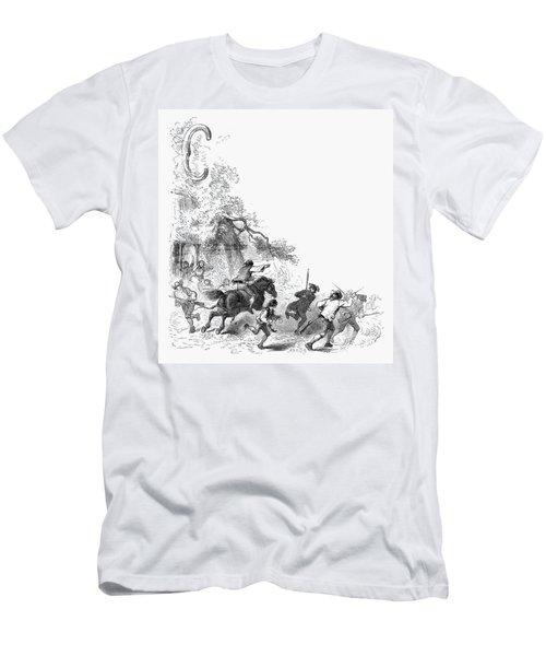 Concord: Minutemen, 1775 Men's T-Shirt (Athletic Fit)