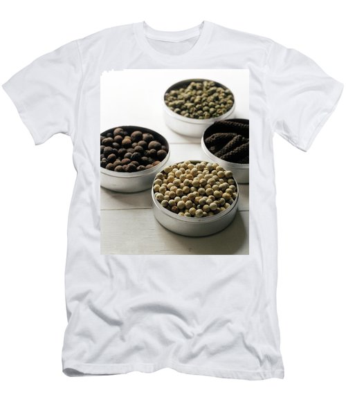 Containers Of Peppers Men's T-Shirt (Athletic Fit)