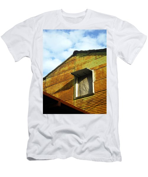 Men's T-Shirt (Slim Fit) featuring the photograph Conventillo by Silvia Bruno