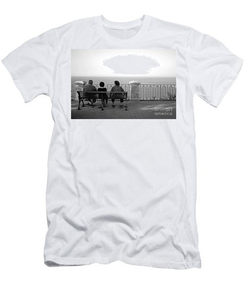Conversations By The Sea Men's T-Shirt (Athletic Fit)