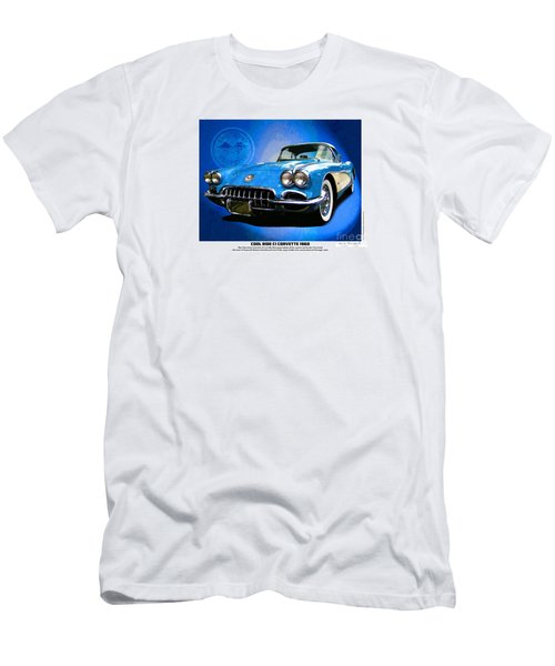 Cool Corvette Men's T-Shirt (Athletic Fit)