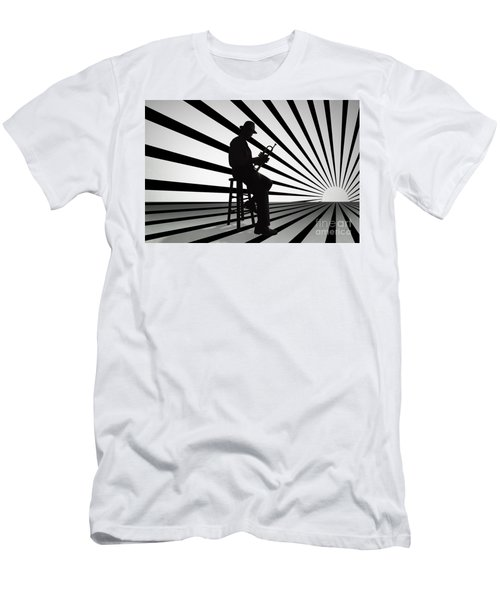 Cool Jazz 2 Men's T-Shirt (Athletic Fit)